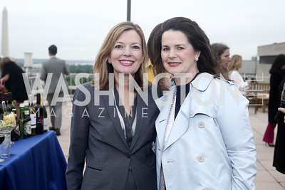 Marie Royce, Suzanne Duvall. Photo by Tony Powell. 2016 WHC Sunset Over the White House. April 29, 2016