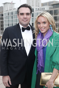 Carl Bedell, Heather Finch. Photo by Tony Powell. 2016 WHC Sunset Over the White House. April 29, 2016