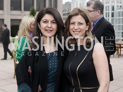 Ghada Ijam, Dima Al Faham. Photo by Tony Powell. 2016 WHC Sunset Over the White House. April 29, 2016