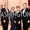 Patrick Christiansen, Annette Kerlin, Connie Christiansen, Gary Mather. Photo by Tony Powell. 2016 WPA Gala. Mellon Auditorium. March 5, 2016