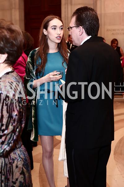 Louisa Erlich, Rod Erlich. Photo by Tony Powell. 2016 WPA Gala. Mellon Auditorium. March 5, 2016
