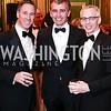Arne Sorenson, Ace Warner, Peter Shields. Photo by Tony Powell. 2016 WPA Gala. Mellon Auditorium. March 5, 2016