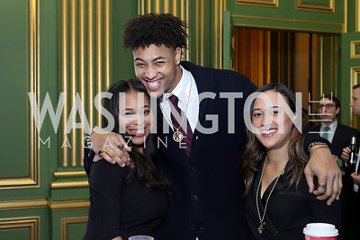 Amber Coleman, Kelly Oubre, Ashley Earle. Photo by Tony Powell. 2016 Walk This Way. Mellon Auditorium. December 9, 2016