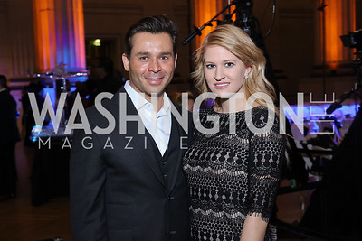 Antonio Alves, Erin Haney. Photo by Tony Powell. 2016 Walk This Way. Mellon Auditorium. December 9, 2016