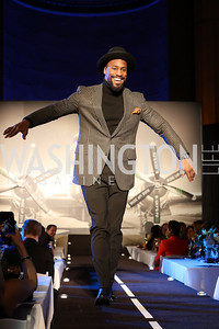 Washington Redskin Vernon Davis. Photo by Tony Powell. 2016 Walk This Way. Mellon Auditorium. December 9, 2016