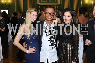 Annie Van Meter, Erwin Gomez, Pamela Castillo. Photo by Tony Powell. 2016 Walk This Way. Mellon Auditorium. December 9, 2016