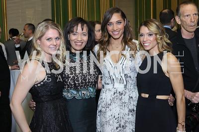 Lindsey Jones, Pamela Thomas-Graham, Marsha Ashley, Betsy Niehoff. Photo by Tony Powell. 2016 Walk This Way. Mellon Auditorium. December 9, 2016