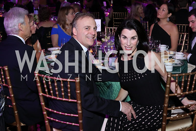 Adam and Tracy Bernstein. Photo by Tony Powell. 2016 JA Hall of Fame. Building Museum. November 30, 2016
