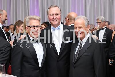 Ed Cohen, JA CEO Ed Grenier, Bob Pincus. Photo by Tony Powell. 2016 JA Hall of Fame. Building Museum. November 30, 2016