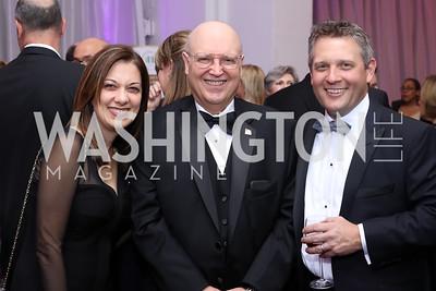 Maria Morgan, Ed Cody, Ron Morgan. Photo by Tony Powell. 2016 JA Hall of Fame. Building Museum. November 30, 2016