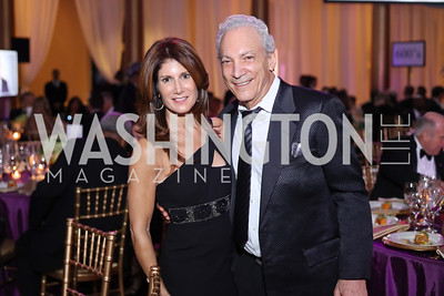 Julie and Dennis Ratner. Photo by Tony Powell. 2016 JA Hall of Fame. Building Museum. November 30, 2016