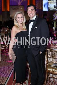 Caroline Guidera, James Dennin. Photo by Tony Powell. 2016 JA Hall of Fame. Building Museum. November 30, 2016