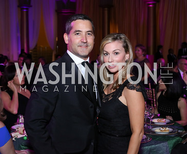 Keith and Stephanie Lemer. Photo by Tony Powell. 2016 JA Hall of Fame. Building Museum. November 30, 2016
