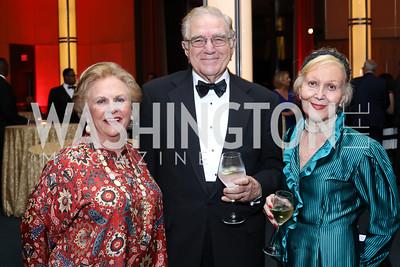 Jacqueline Badger Mars, Charles and Evelyn DiBona. Photo by Tony Powell. WNO Season Opener. Kennedy Center. September 24, 2016