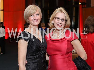Kristen Hickman, Marcia Mayo. Photo by Tony Powell. WNO Season Opener. Kennedy Center. September 24, 2016