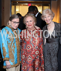 Justice Ruth Bader Ginsburg, Jacqueline Badger Mars, Natalie Wexler. WNO Season Opener. Kennedy Center. September 24, 2016