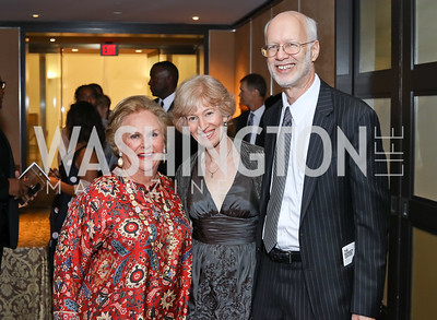 Jacqueline Badger Mars, Natalie Wexler, Jim Feldman. Photo by Tony Powell. WNO Season Opener. Kennedy Center. September 24, 2016