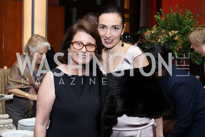 Jamie Craft, Anita Kondoyanidi. Photo by Tony Powell. WNO Season Opener. Kennedy Center. September 24, 2016