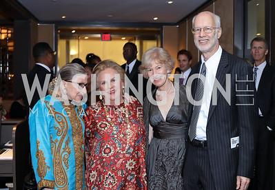 Justice Ruth Bader Ginsburg, Jacqueline Badger Mars, Natalie Wexler, Jim Feldman. WNO Season Opener. Kennedy Center. September 24, 2016