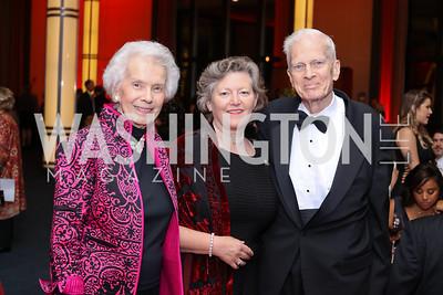 Marjorie Billington, Amanda Downes, James Billington. Photo by Tony Powell. WNO Season Opener. Kennedy Center. September 24, 2016