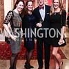 Johanna Howe, Kate Meek, JB Meek, Denise Prince. Photo by Tony Powell. 2016 Washington Winter Show Preview. Katzen Center. January 7, 2015