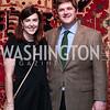 Anne Smith and William Kennedy Smith. Photo by Tony Powell. 2016 Washington Winter Show Preview. Katzen Center. January 7, 2015