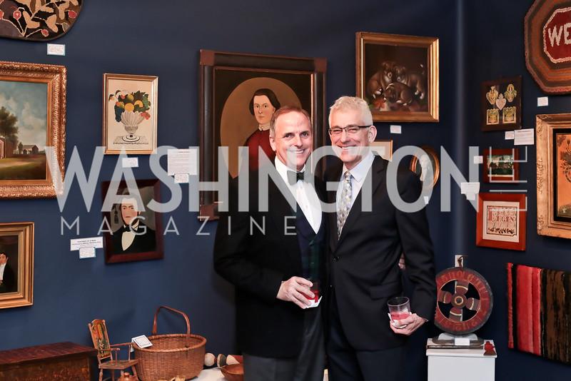 Ed McAllister, Joe Carpenter. Photo by Tony Powell. 2016 Washington Winter Show Preview. Katzen Center. January 7, 2015