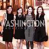 Betsy Jaeger, Marilouise Avery, Eleanor Nading, Johanna Howe. Photo by Tony Powell. 2016 Washington Winter Show Preview. Katzen Center. January 7, 2015