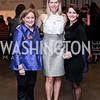 Washington Winter Show Program Director Sara Davis, Alison Reynolds, Anne Colclough. Photo by Tony Powell. 2016 Washington Winter Show Preview. Katzen Center. January 7, 2015