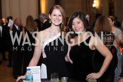Jenessa Loftis, Jess Ching. Photo by Tony Powell. 2016 White Hat Gala. Building Museum. October 27, 2016