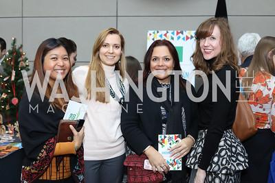 Nipattra Wilkes, Anna Kelly, Ashley Appel, Jennifer Snell. Photo by Tony Powell. 2016 Winternational. Reagan Building. December 7, 2016