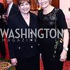 Honoree Former Sec. of Agriculture Ann Veneman, NWHM President Joan Wages. Photo by Tony Powell. 2016 Women Making History Awards. Mayflower Hotel. March 14, 2016