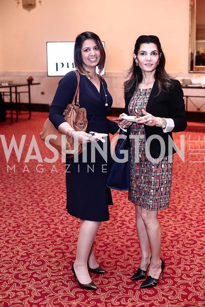 Ban Hameed, Tona Rashad. Photo by Tony Powell. 2016 Women Making History Awards. Mayflower Hotel. March 14, 2016