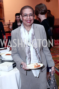 Rep. Eleanor Holmes Norton. Photo by Tony Powell. 2016 Women Making History Awards. Mayflower Hotel. March 14, 2016