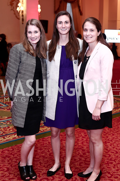 Amy Schober, Lee Schober, Anita McLure. Photo by Tony Powell. 2016 Women Making History Awards. Mayflower Hotel. March 14, 2016