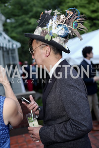 Supon Phornirunlit. Photo by Tony Powell. Woodrow Wilson House 28th Annual Garden Party. May 11, 2016
