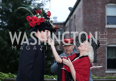 Timothy Thomas, Robin Phillips. Photo by Tony Powell. Woodrow Wilson House 28th Annual Garden Party. May 11, 2016