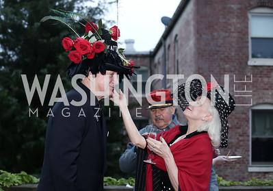 Timothy Thomas, Robin Phillips. Photo by Tony Powell. Woodrow Wilson House 28th Annual Garden Party. May 11, 2016