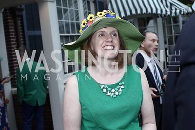 Betsy Doyle. Photo by Tony Powell. Woodrow Wilson House 28th Annual Garden Party. May 11, 2016