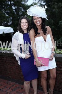 Jessica Scott, Bethany Scanlon. Photo by Tony Powell. Woodrow Wilson House 28th Annual Garden Party. May 11, 2016
