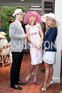 Rob Balazs, Whitney Austin Gray, Heather Louise Finch. Photo by Tony Powell. Woodrow Wilson House 28th Annual Garden Party. May 11, 2016