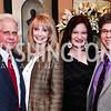 Donald Friedman and Rhona Wolfe Friedman, Jenny Bilfield and Joel Friedman. Photo by Tony Powell. 2016 Young Concert Artists Gala. Embassy of Hungary. April 8, 2016