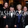 Aniko Gaal Schott, George Li, Mary Mochary, Susan Wadsworth. Photo by Tony Powell. 2016 Young Concert Artists Gala. Embassy of Hungary. April 8, 2016