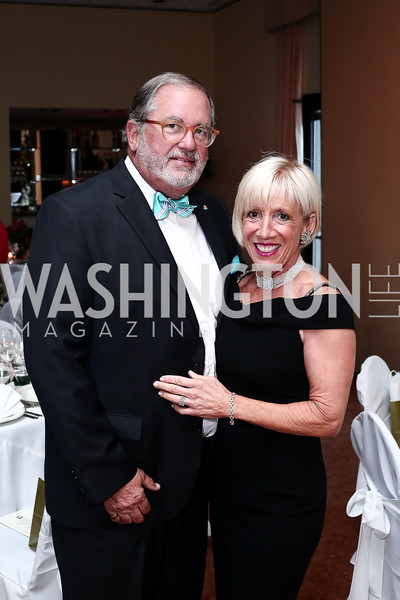 Chris and Vicki Kellogg. Photo by Tony Powell. 2016 Young Concert Artists Gala. Embassy of Hungary. April 8, 2016
