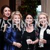 Aniko Gaal Schott, Mary Mochary, Susan Wasdsworth, Gilan Tocco Corn. Photo by Tony Powell. 2016 Young Concert Artists Gala. Embassy of Hungary. April 8, 2016
