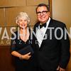 Barbara Flores, Roland Ramirez. Photo by Alfredo Flores. 20th Annual LULAC National Legislative Awards Gala. Grand Hyatt. February 15, 2017