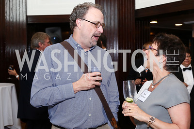 Scott Swenson, Beth Schulman. Photo by Tony Powell. 45th Anniversary of Public Citizen. Press Club. June 16, 2016