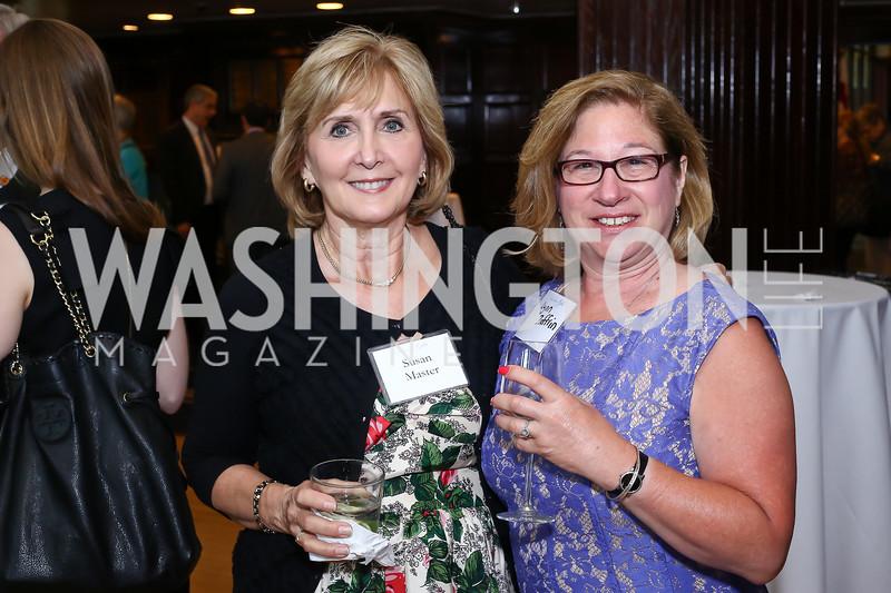 Susan Master, Lynn Zaffrin. Photo by Tony Powell. 45th Anniversary of Public Citizen. Press Club. June 16, 2016
