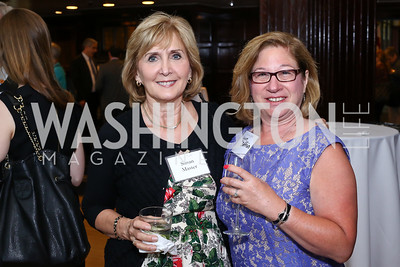 Susan Master, Lynn Zaffrin. Photo by Tony Powell. 45th Anniversary of Public Citizen. Press Club. June 16, 2016
