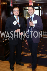 Stephan Gaskill, Mike Litt. Photo by Tony Powell. 45th Anniversary of Public Citizen. Press Club. June 16, 2016